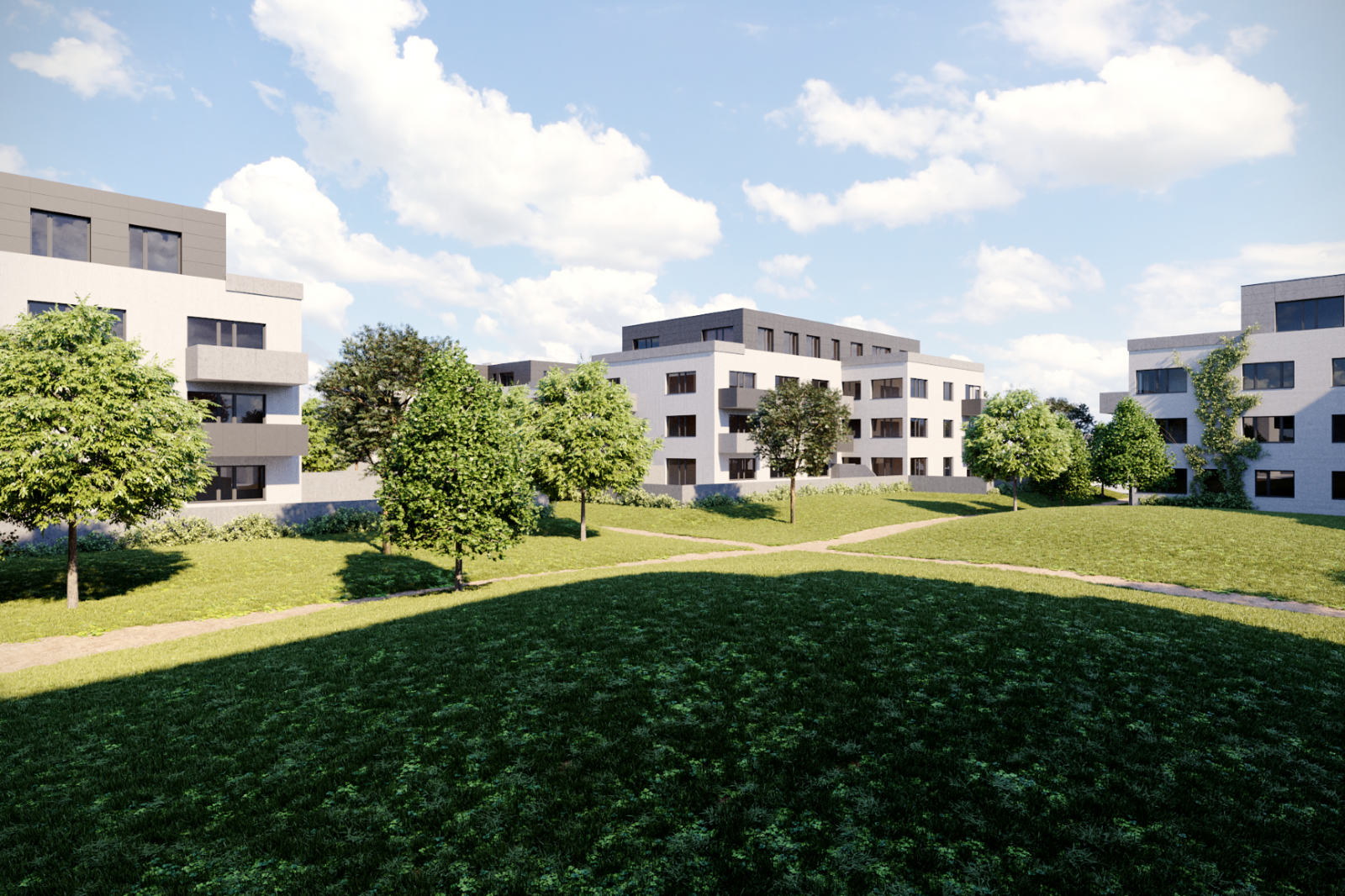 Byt 2+kk, 39,70 m2, Horoměřice, Projekt Višnovka - bytové domy