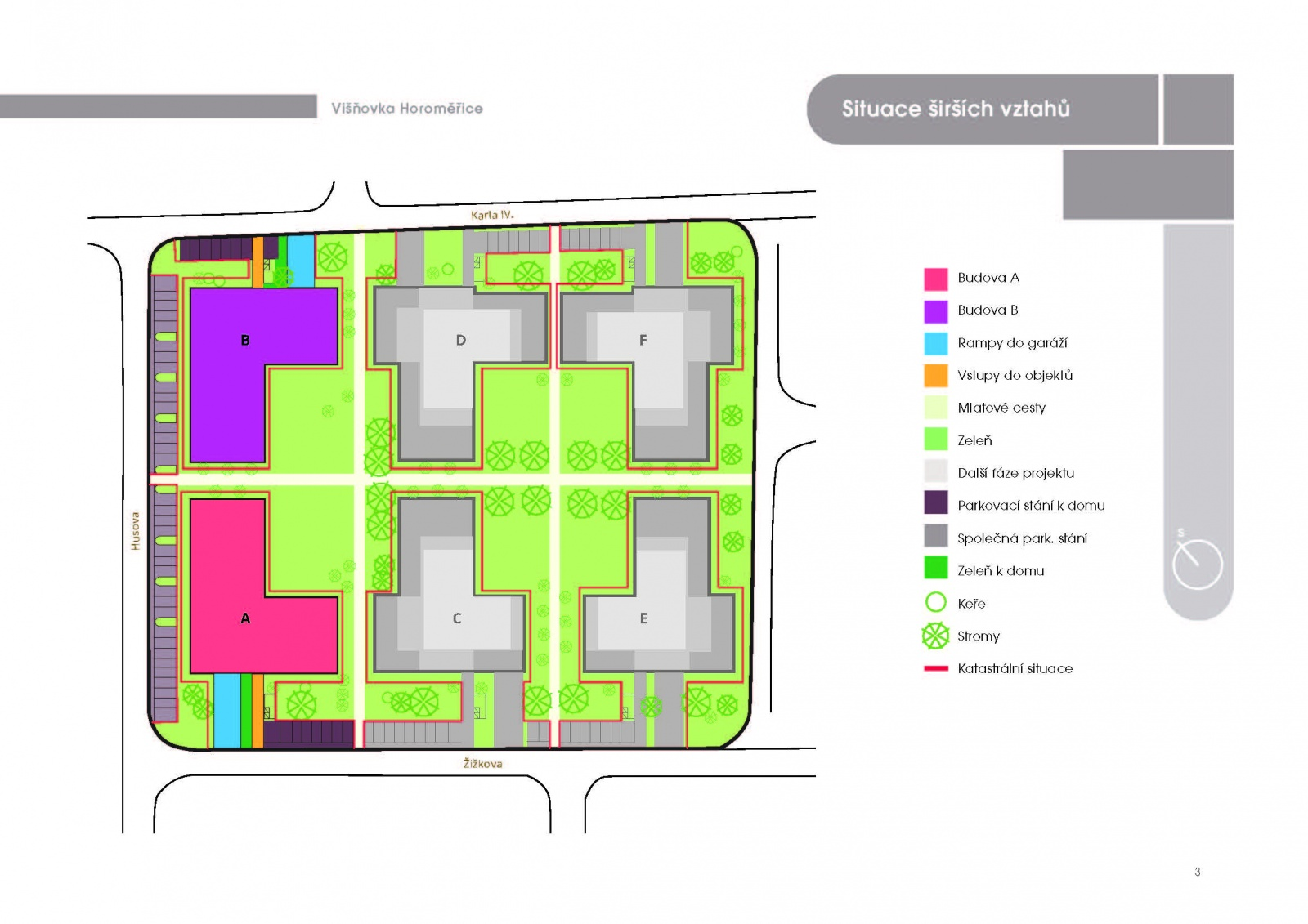 Byt 3+kk, 65,70 m2, Horoměřice, Projekt Višnovka - bytové domy