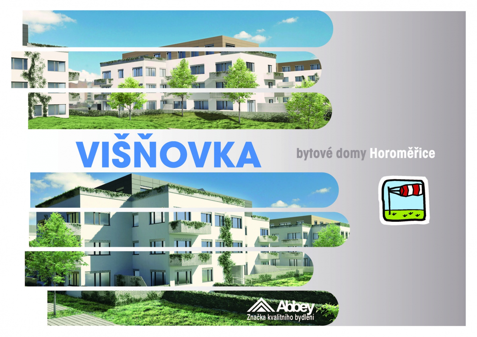 Byt 4+kk, 117,30 m2, Horoměřice, Projekt Višnovka - bytové domy