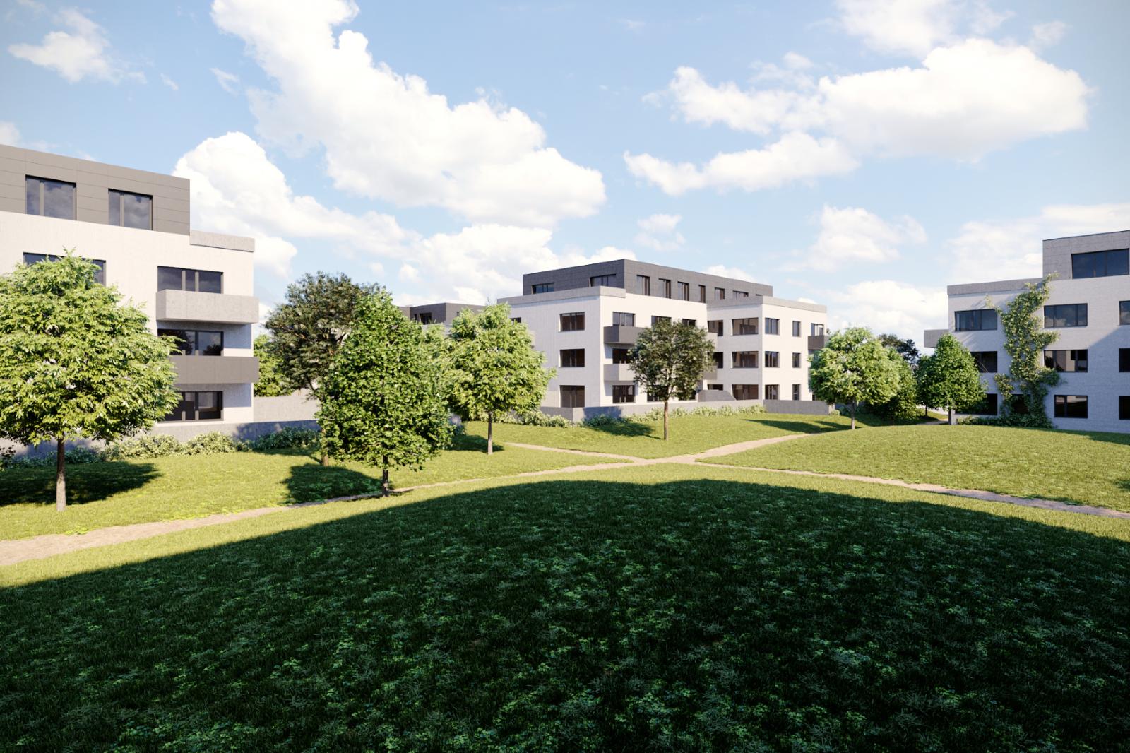 Byt 4+kk, 97.80 m2, Horoměřice, Projekt Višnovka - bytové domy