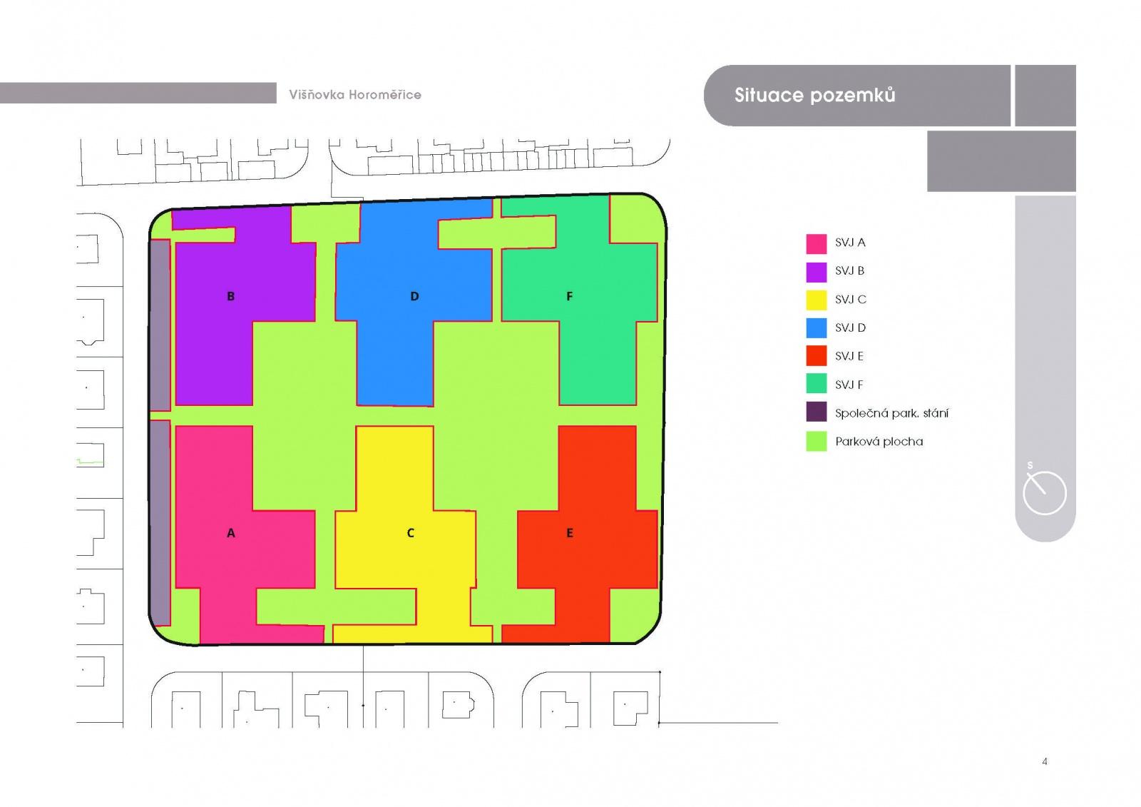 Byt 2+kk, 39.70 m2, Horoměřice, Projekt Višnovka - bytové domy