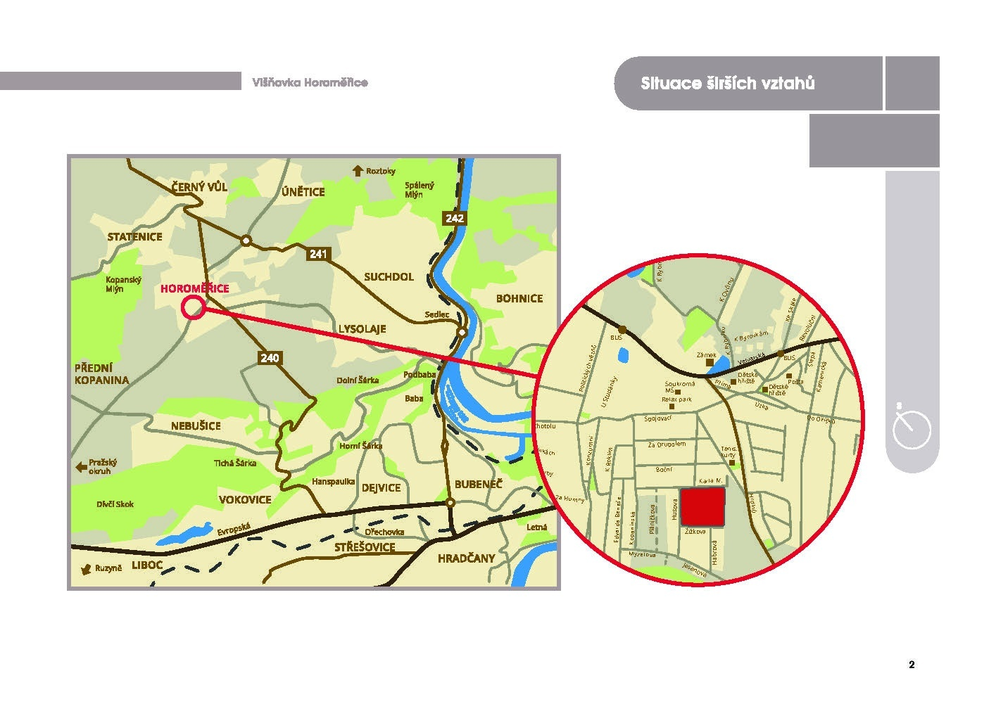 Byt 3+kk, 65.70 m2, Horoměřice, Projekt Višnovka - bytové domy