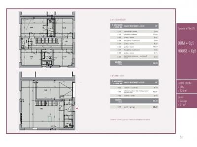 Dům 5+kk, 120,00 m2, Přezletice, Rodinné domy Panská pole