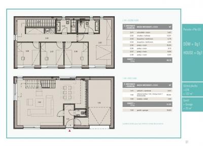Dům 5+kk, 122,00 m2, Přezletice, Rodinné domy Panská pole