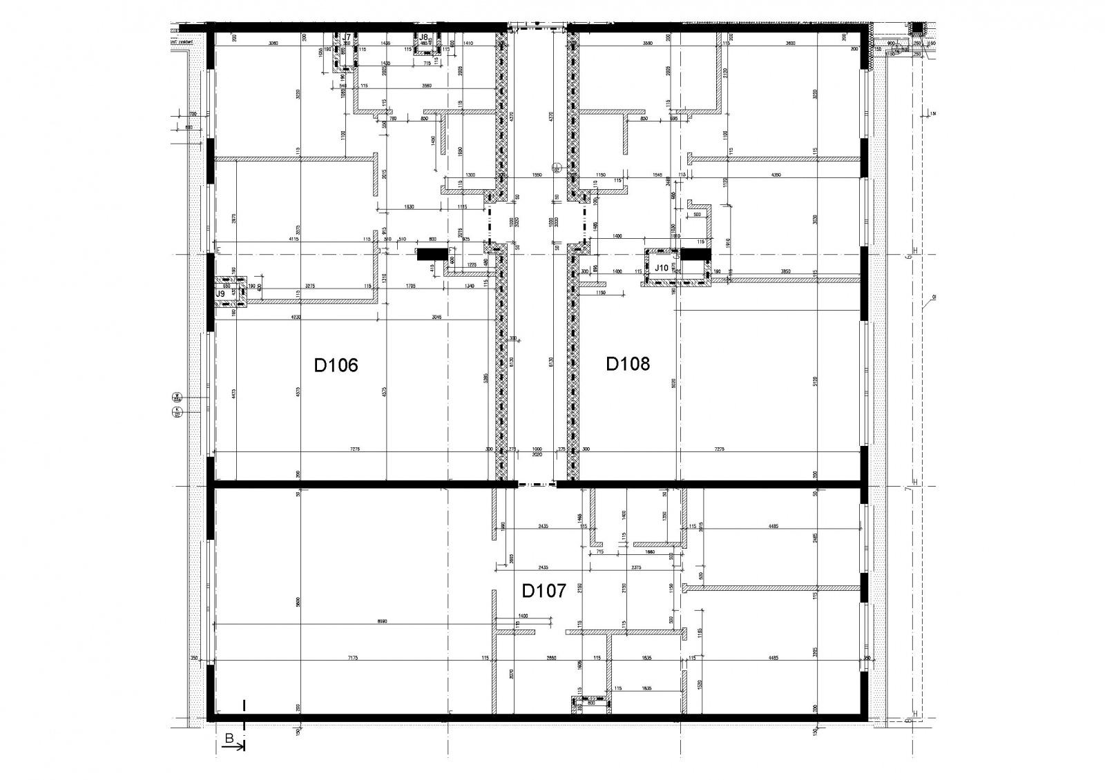 Komerční prostor, 96.5 m2, Horoměřice, Projekt Višnovka - bytové domy