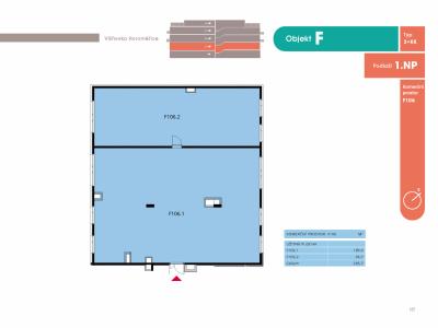 Komerce, 291.50 m2, Horoměřice, Projekt Višnovka - bytové domy